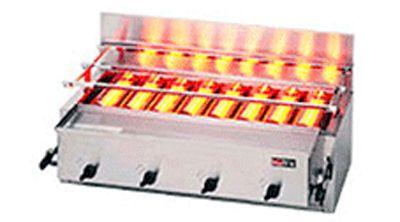 ガス赤外線グリラー(リンナイ)・下火式 厨房機器 調理機器 RGA-408B W980*D580*H305(mm)