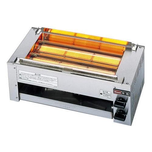 串焼き用ガス赤外線グリラー・下火式 厨房機器 調理機器 RGK-62D W581*D324.5*H240(mm)