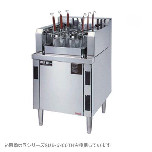 自動茹で麺機マルチ・ボイル4連タイプ(電気式) 厨房機器 調理機器 SUE-4-60TH 業務用 W600*D600*H750(mm)