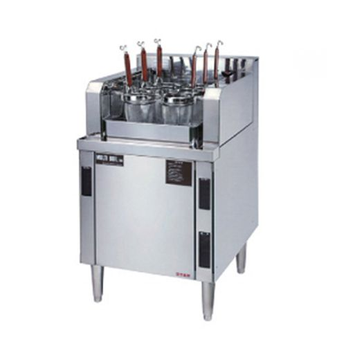 自動茹で麺器マルチ・ボイル6連タイプ(電気式) 厨房機器 調理機器 SUE-6-60TH W600*D750*H750(mm)