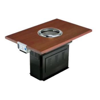 無煙ロースターダクト型(洋卓) 厨房機器 調理機器 SVST-20R W1200*D800*H700(mm)(ダクト工事要)
