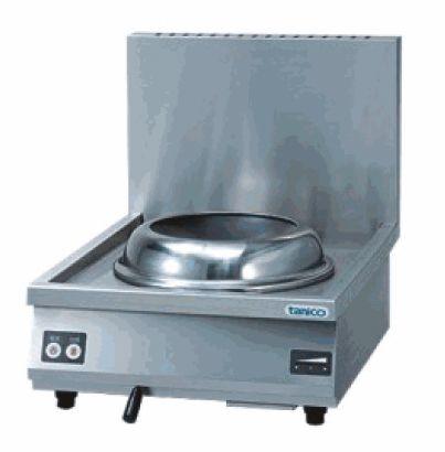 IH中華レンジ・卓上タイプ、360専用両手鍋、ダストボックス付属 厨房機器 調理機器 TICR-605T W600*D750*H250(mm)