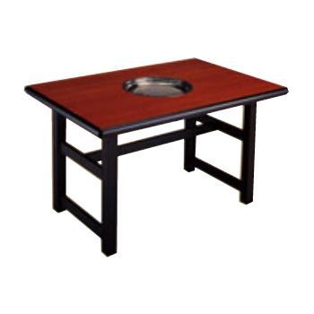焼肉テーブル 厨房機器 調理機器 TN167 W1200*D800*H700(mm)