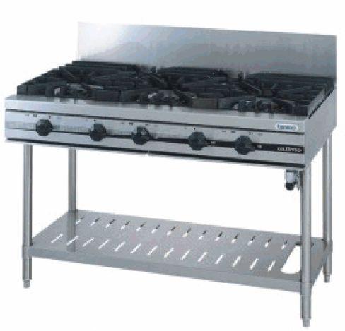 ガステーブル(ウルティモシリーズ)・165*3+90*2 厨房機器 調理機器 TSGT-1832 W1800*D600*H800(mm)