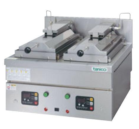 自動餃子焼き機(タニコー)24個+24個、電気式 厨房機器 調理機器 TZ-60EF-3 W600*D600*H310(mm)