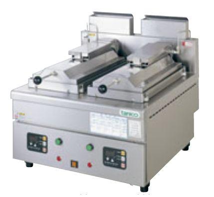 自動餃子焼き機(タニコー)24個+24個、ガス式 厨房機器 調理機器 TZ-60GF-3 W600*D650*H340(mm)