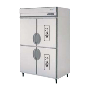 【新品・送料無料・代引不可】福島工業(フクシマ) 業務用 縦型冷凍冷蔵庫 URN-122PMD6 W1200×D650×H1950(mm)【受注生産品】