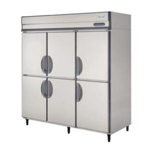 【新品・送料無料・代引不可】福島工業(フクシマ) 業務用 縦型冷蔵庫 URN-180RM6 W1790×H800×H1950(mm)【受注生産品】