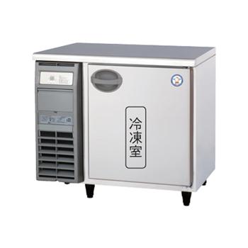 横型冷蔵(冷凍)庫 D750mm内装ステンレス鋼板(福島) 冷凍1 100V 厨房機器 調理機器 YRW-091FM2 W900*D750*H800(mm)(受注生産・庫内灯別売)