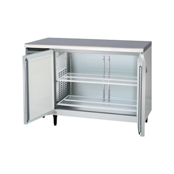 横型冷蔵(冷凍)庫 D750mm内装ステンレス鋼板(福島) 冷凍2 100V 厨房機器 調理機器 YRW-122FM2-F W1200*D750*H800(mm)(受注生産・庫内灯別売)