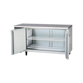 横型冷蔵(冷凍)庫 D750mm内装ステンレス鋼板(福島) 冷凍2 100V 厨房機器 調理機器 YRW-152FM2-F W1500*D750*H800(mm)(受注生産・庫内灯別売)