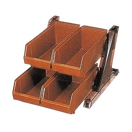 2段2列オーガナイザー 厨房機器 調理機器 094005 W315*D460*H240(mm)