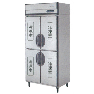 【新品・送料無料・代引不可】フクシマ 業務用冷凍庫 縦型 ARD-094FM W900×D800×H1950(mm)