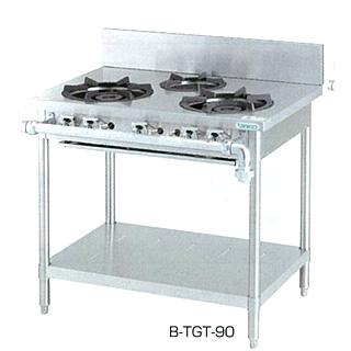 【業務用ガステーブル】タニコー  [ 3口レンジ ]「スタンダードシリーズ」 B-TGT-120 W1200×D600×H800(mm)