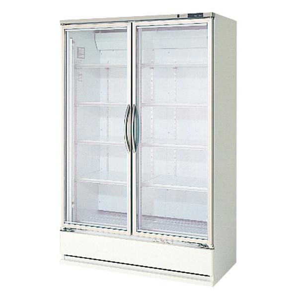 【業務用 冷蔵ショーケース】フクシマ幅1200  [ 容積:703L・単相100V ] MRS-40GWSR5 W1200×D650+(50)×H1900(mm)