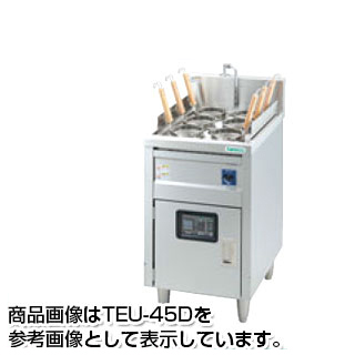 【新品・送料無料・代引不可】タニコー 電気ゆで麺器 デラックスタイプ [ デジタル温度調節器仕様 ] 一槽式 TEU-62D W620×D600×H800(mm)