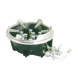 【新品・送料無料・代引不可】タニコー ガスコンロ 業務用スーパーカロリーコンロセット TG-9ST W360×D490×H220(mm)