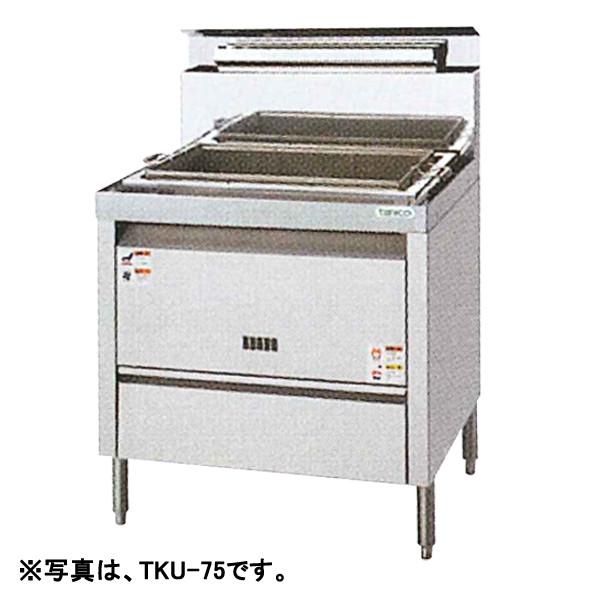 【新品・代引不可】タニコー 角型うどん釜 TKU-100W W1000×D600×H800(mm)