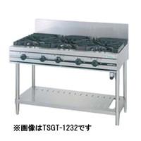 【業務用 ガステーブル】タニコー奥行600  [ 幅1200・4口・LPガス ]「ウルティモシリーズ」 TSGT-1222 W1200*D600*H800(mm)