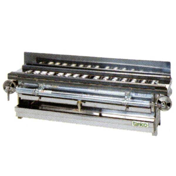 【新品・送料無料・代引不可】タニコー ガス式強力タイプ やきとり器 TYB-14G W740×D200×H200