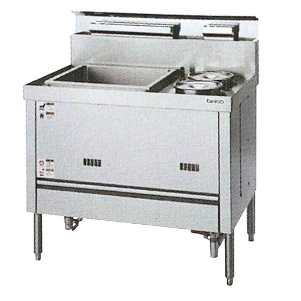 【新品・代引不可】タニコー 湯がき槽付湯煎器 TYU-90 W900×D600×H800(mm)