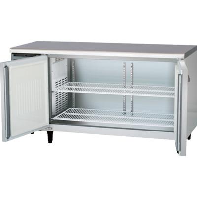 【新品・送料無料・代引不可】フクシマ 業務用冷蔵庫 横型 コールドテーブル冷蔵庫(内装樹脂鋼板・センターフリータイプ) YRC-150RE2-F W1500×D600×H800(mm)
