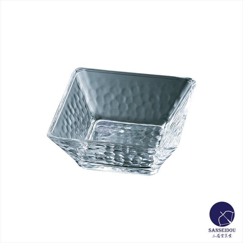 ガラス食器 きらら角小鉢 食器 A42995W 110*110*45(mm) 96個入り
