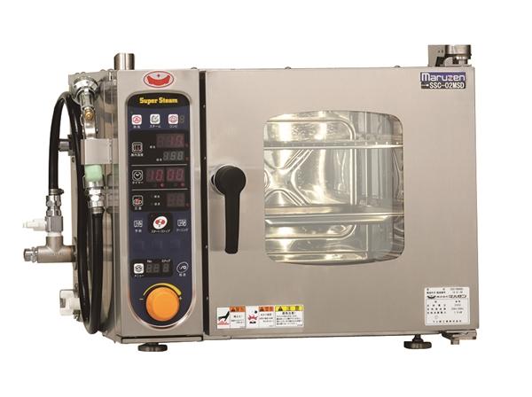 電気スチームコンベクションオーブン 幅500×奥行470×高さ390 単相200V 1.9kW SSC-02MSD