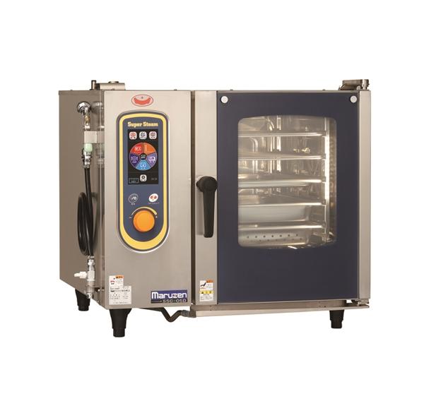 電気スチームコンベクションオーブン 幅790×奥行740×高さ700 三相200V 7.5kW SSC-05D