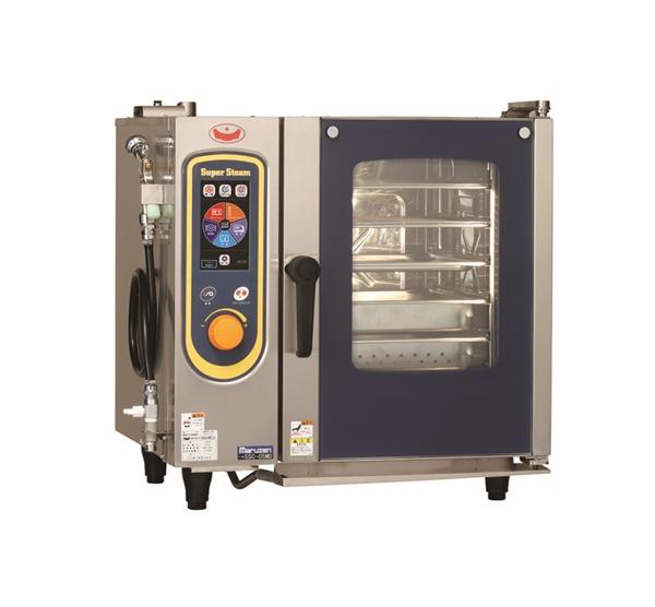 電気スチームコンベクションオーブン 幅680×奥行560×高さ685 三相200V 5.7kW SSC-05MD