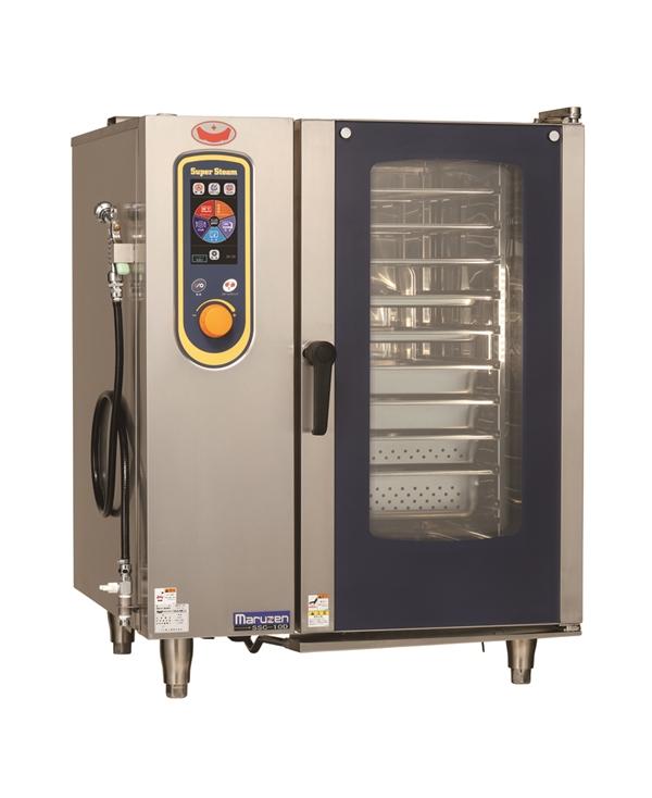 電気スチームコンベクションオーブン 幅845×奥行775×高さ1080 三相200V 17.2kW SSC-10D
