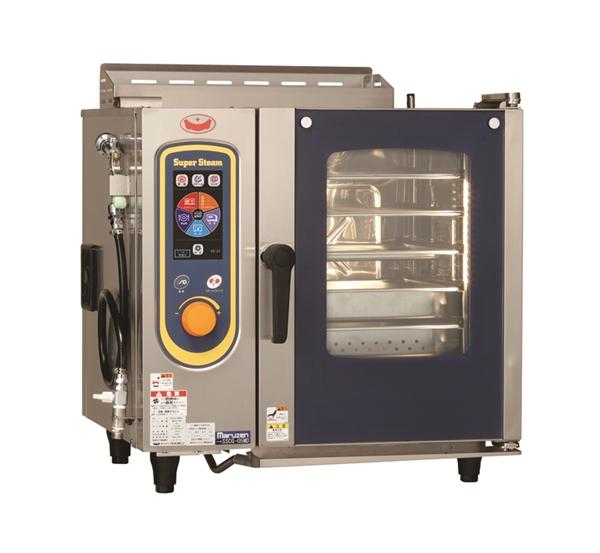 ガススチームコンベクションオーブン 幅700×奥行600×高さ685 単相100V 120W SSCG-05MD