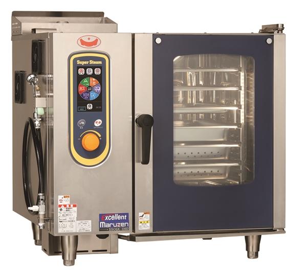 ガススチームコンベクションオーブン 幅845×奥行775×高さ820 単相100V 605W SSCGX-06D