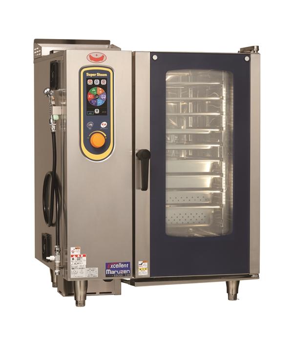 ガススチームコンベクションオーブン 幅845×奥行775×高さ1080 単相100V 625W SSCGX-10D