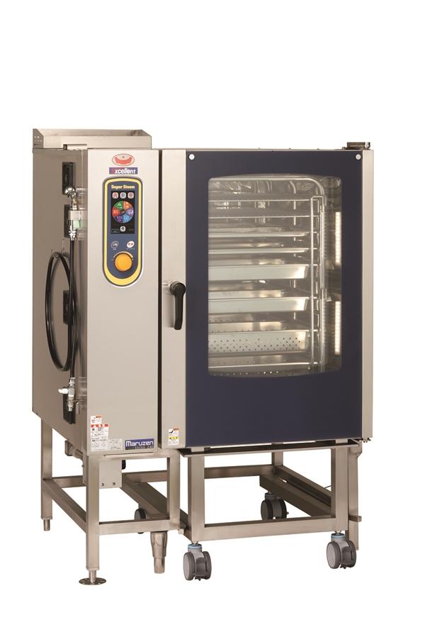 ガススチームコンベクションオーブン 幅1150×奥行1015×高さ1550 単相100V・単相100V 1200W SSCGX-24D