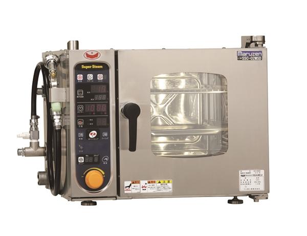 電気スチームコンベクションオーブン 幅500×奥行470×高さ390 単相200V 1.9kW SSCS-02MD