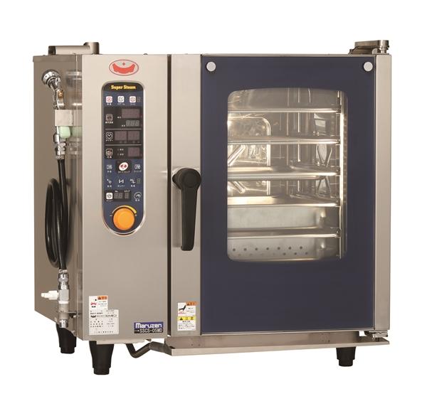 電気スチームコンベクションオーブン 幅680×奥行560×高さ685 三相200V 5.4kW SSCS-05MD