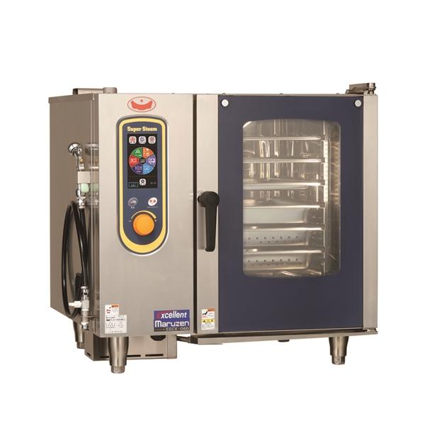 電気スチームコンベクションオーブン 幅845×奥行775×高さ820 三相200V 9.4kW SSCX-06D