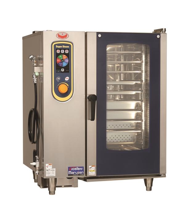電気スチームコンベクションオーブン 幅845×奥行775×高さ1080 三相200V 17.2kW SSCX-10D
