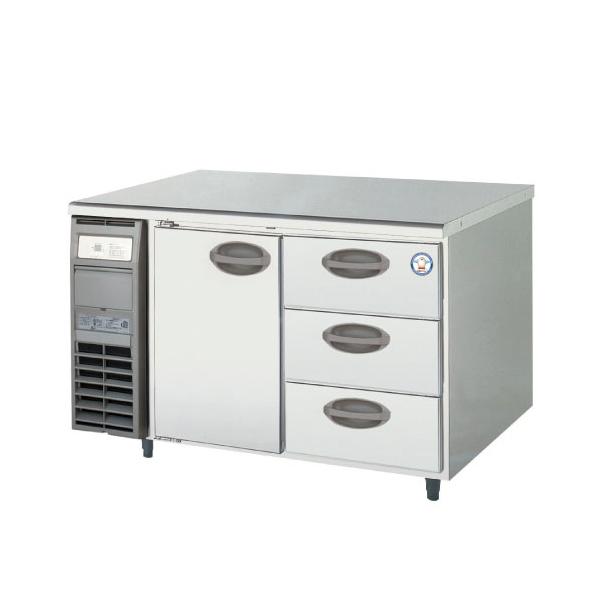 【新品・送料無料・代引不可】フクシマ 業務用ドロワー冷蔵庫 YRC-120RM2-D W1200*D600*H800
