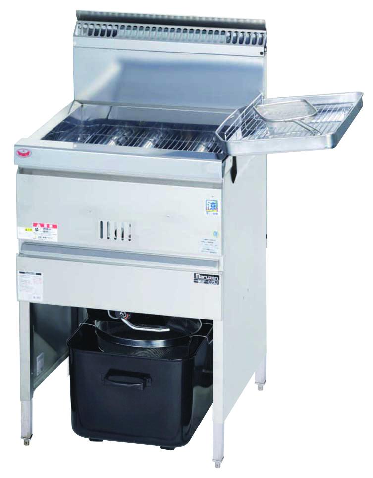 【新品・送料無料・代引不可】涼厨 フライヤー MGF-C23K 530*610*800*150mm LPガス
