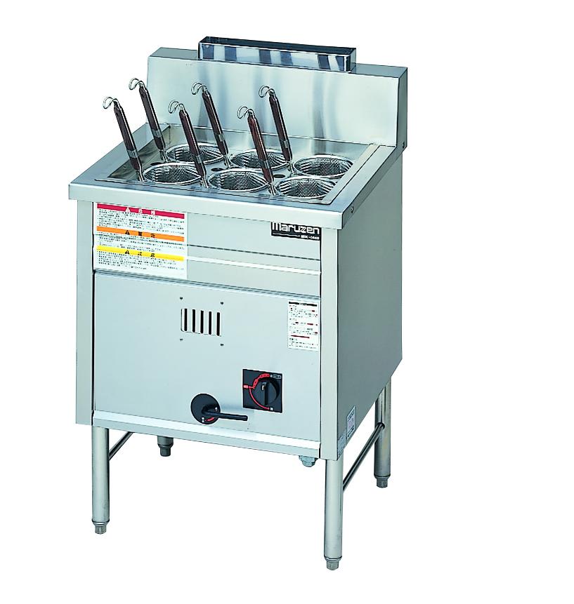 角槽型ラーメン釜 厨房機器 調理機器 MRK-066B W600*D580*H800(mm)