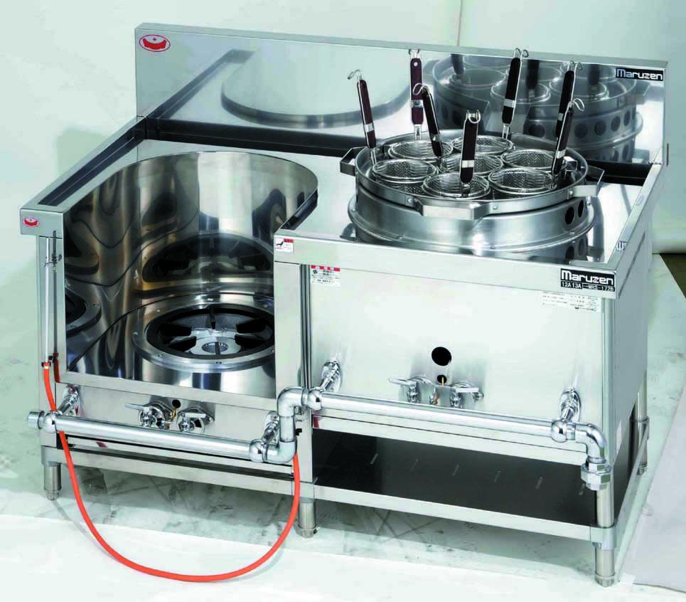 外管式中華レンジ 厨房機器 調理機器 MRS-172E W1300*D750*H720(mm)