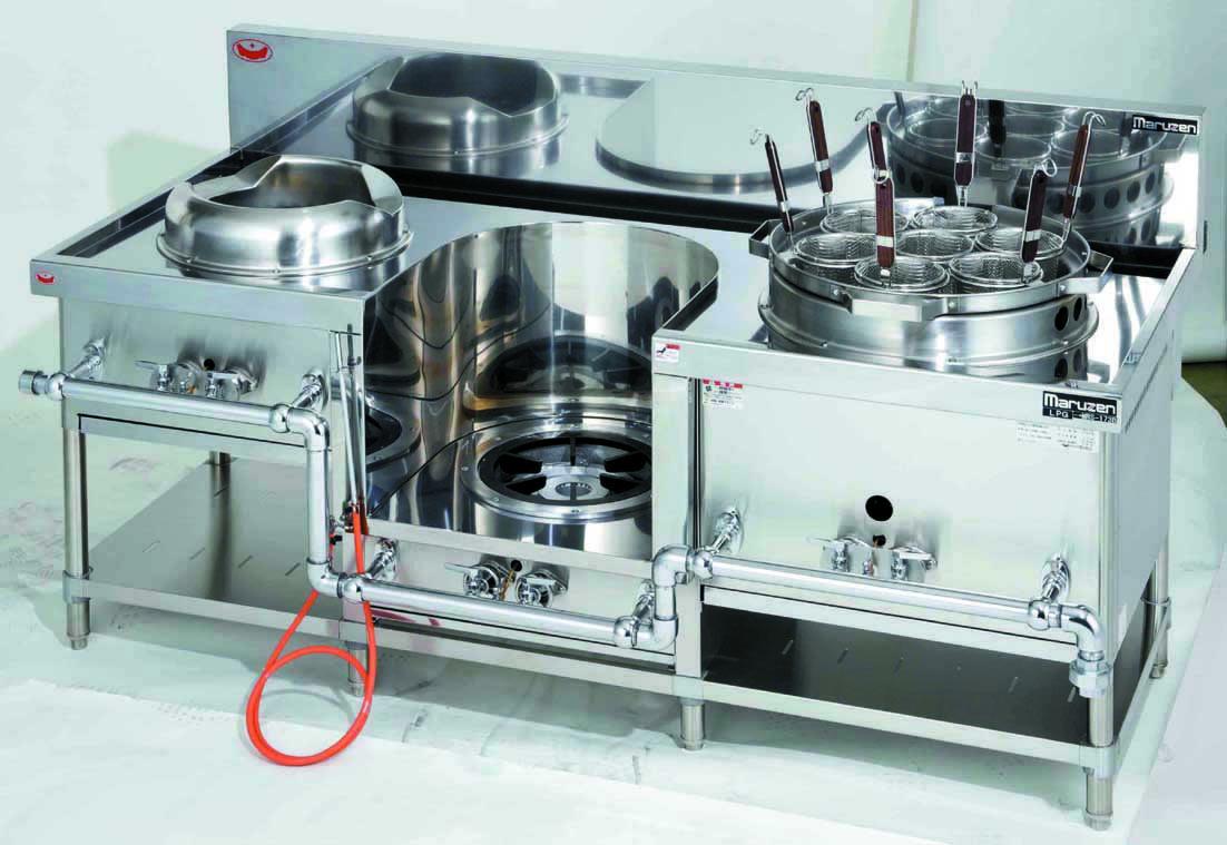外管式中華レンジ 厨房機器 調理機器 MRS-173E W1800*D750*H720(mm)