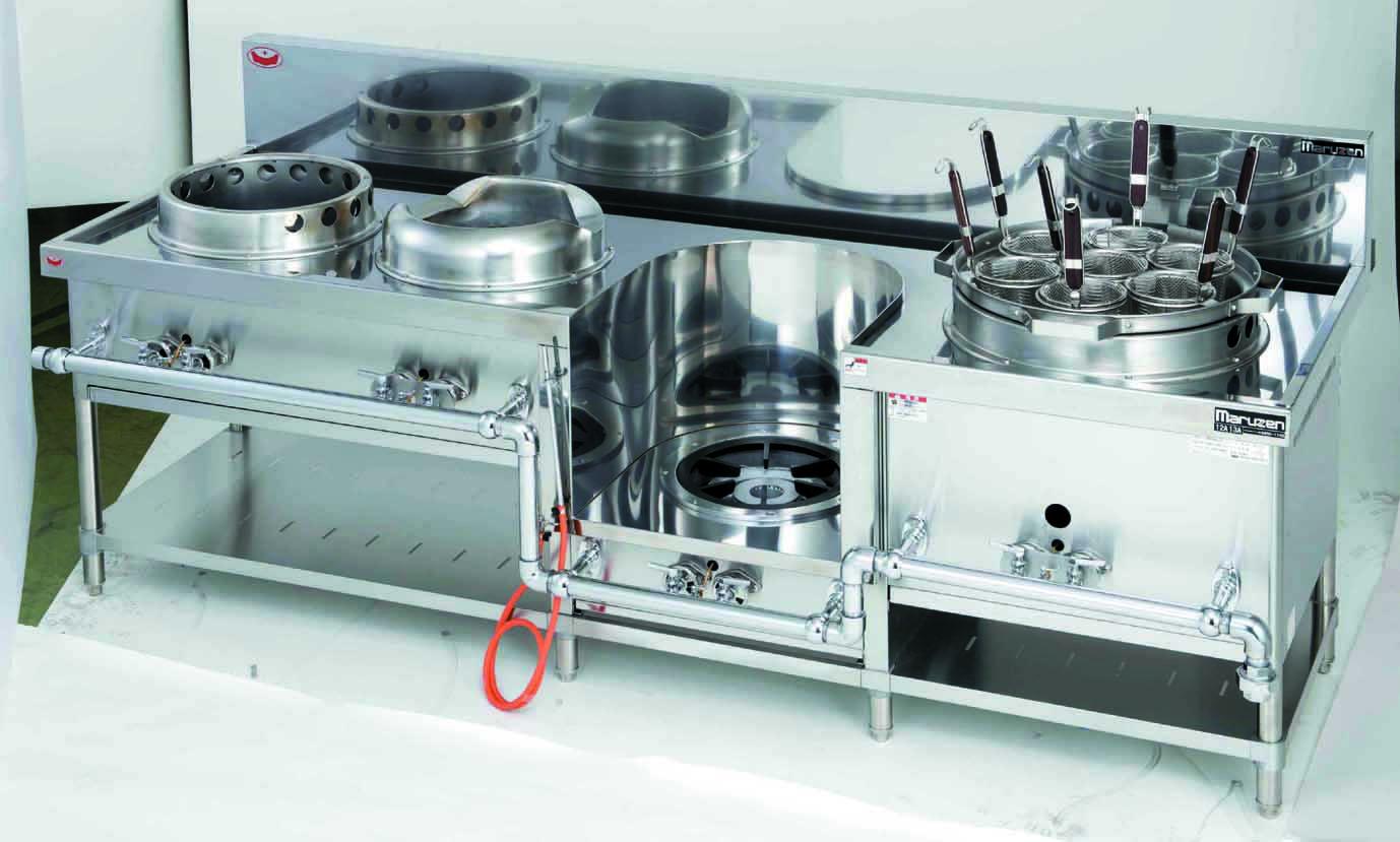 外管式中華レンジ 厨房機器 調理機器 MRS-174E W2250*D750*H720(mm)