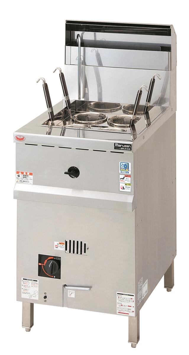 涼厨角槽型ゆで麺機 厨房機器 調理機器 MRY-C04 W450*D600*H800(mm)
