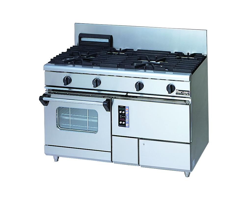 ガスレンジ NEWパワークックシリーズ 厨房機器 調理機器 RGR-1265XD W1200*D600*H800(mm)