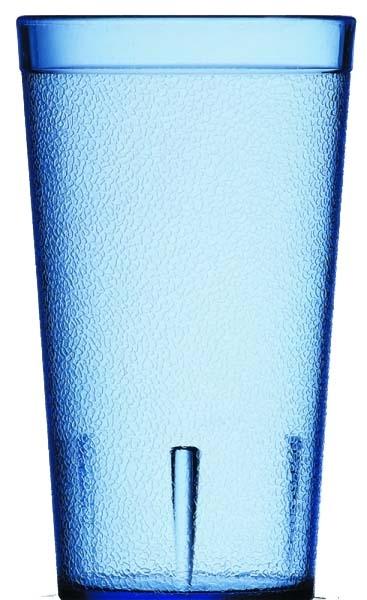 【Carlyle】スタッカブルSAN ブルー TB12 400ml 72個(ケース販売) CR-3211