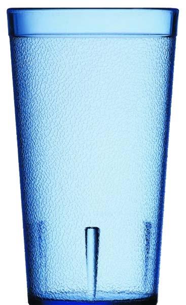 【Carlyle】スタッカブルSAN ブルー TB8 240ml 72個(ケース販売) CR-3227