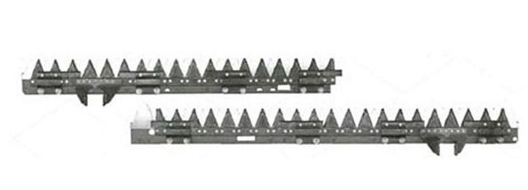 イセキ コンバイン 部品[HF680AT(新)]用 刈取刃(バリカン,刈刃)(ツイン駆動)